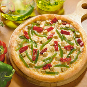 Peppy Paneer Pizza
